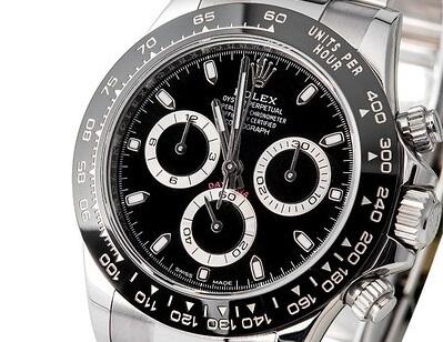 fake Rolex Daytona 116500 Black Dial