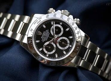 fake Rolex Daytona 116520 Black Dial